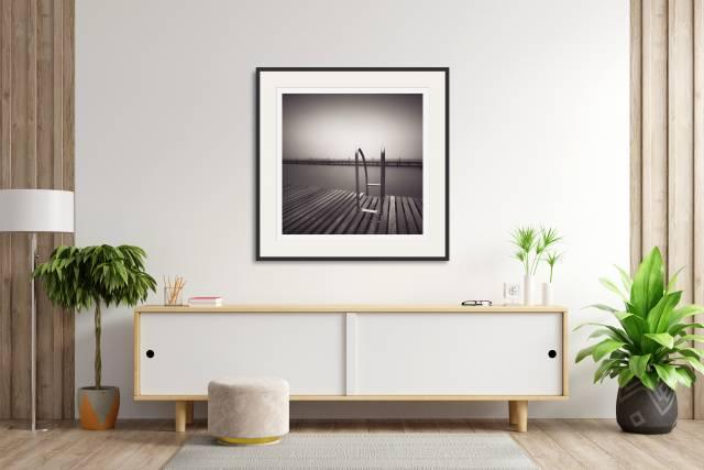 Pool Ladder, Balaruc-Les-Bains, France - Denis Olivier Photography