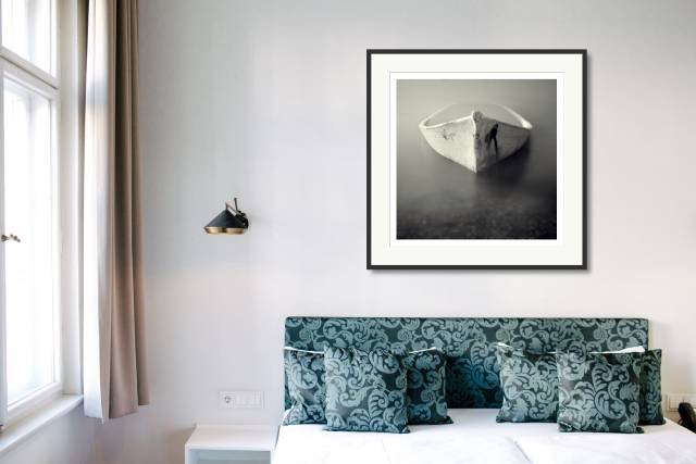 Sunk Boat, Palavas, France - Denis Olivier Photography