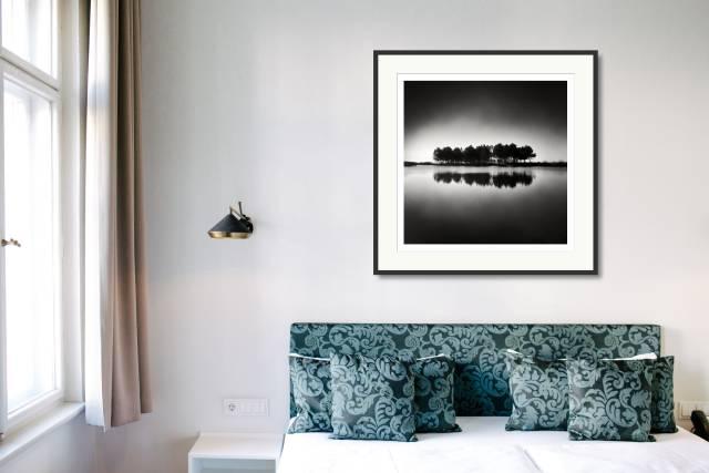 Reflecting Trees, Hourtin, France - Denis Olivier Photography