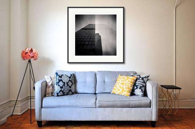 City Buildings (double Exposure), London, UK - Denis Olivier Photography