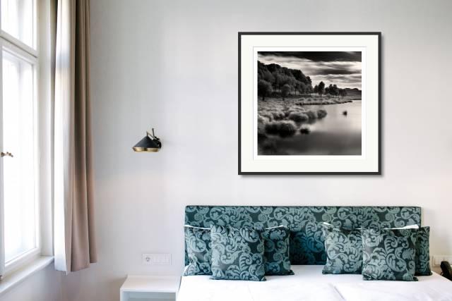 Lake, Kerguehennec Domain, Bignan, France - Denis Olivier Photography