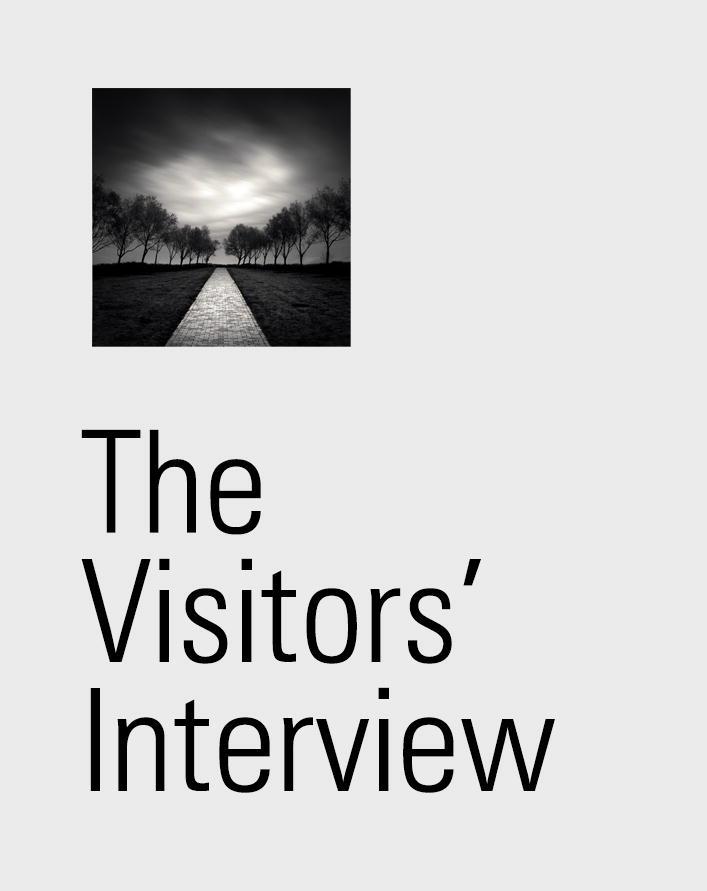 Visitors' interview